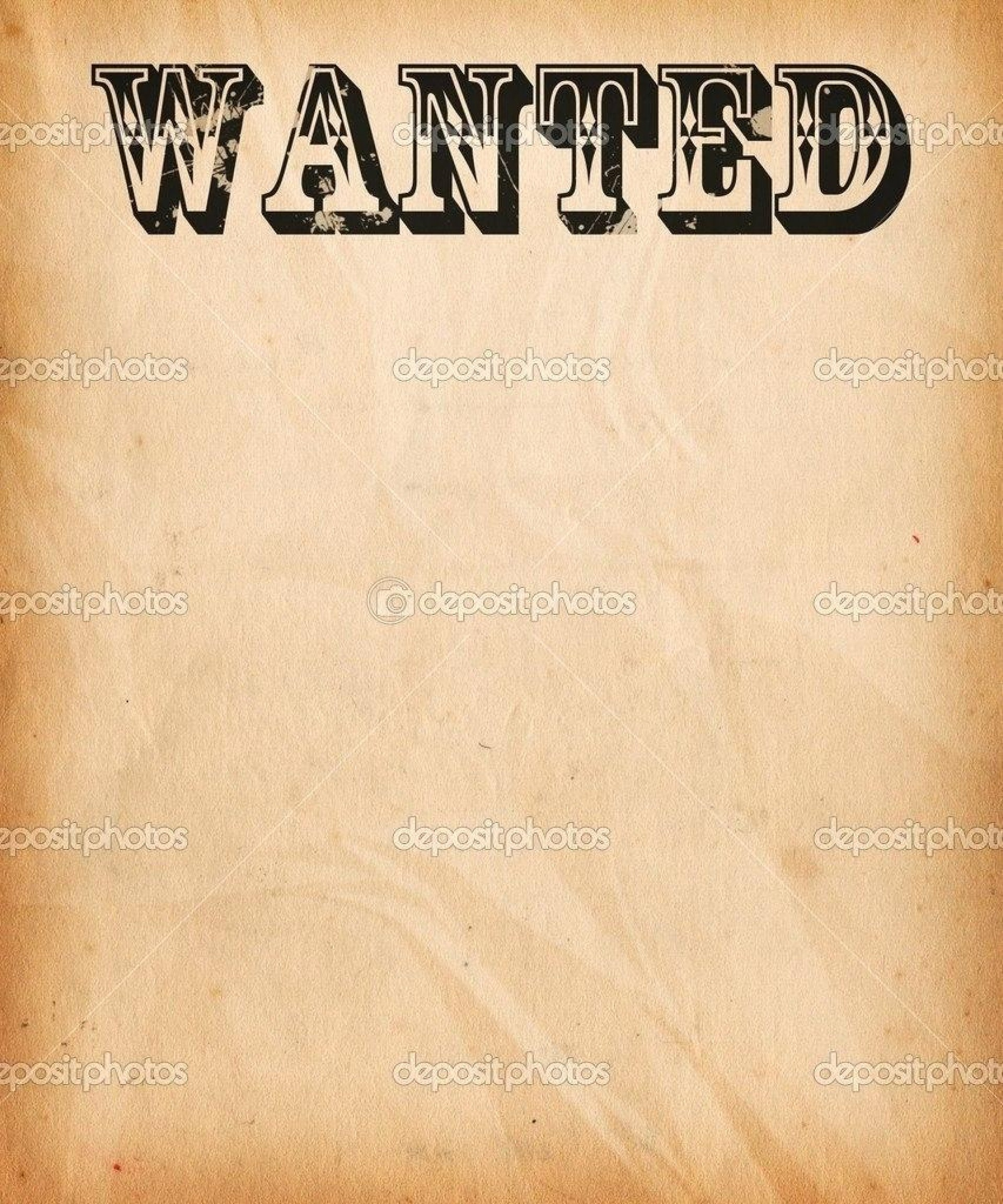 001 Template Ideas Free Wanted Poster Printable Lovely throughout Wanted Poster Template Free Printable
