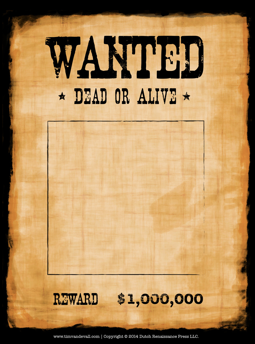 003 Wanted Poster Template Free Fearsome Ideas Online Most regarding Wanted Poster Template Free Printable