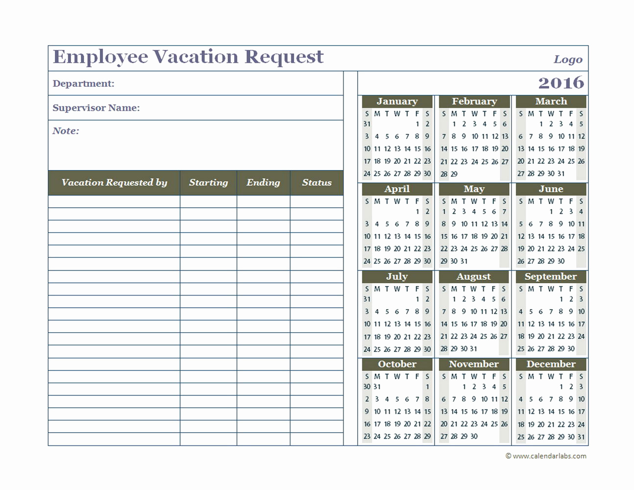 007 Template Ideas Vacation Calendar Excel Example Templates inside Employee Vacation Calendar Template