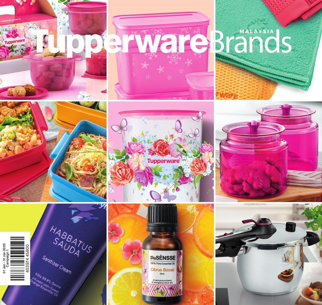 01 Jan  31 Jan 2020 | Tupperware Plus for Tupperware Jan 2020