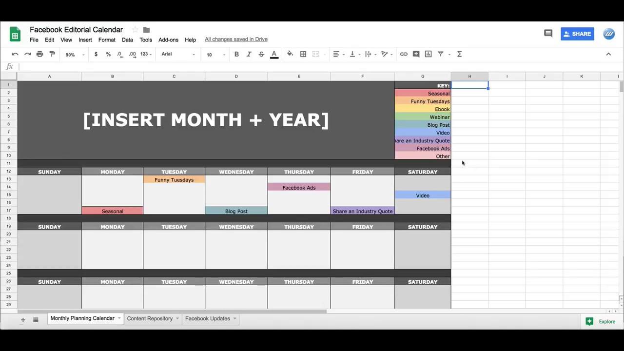 018 Monthly Calendar Template Google Sheets Ideas Rare 2018 regarding Calendar Template Google Docs Spreadsheet