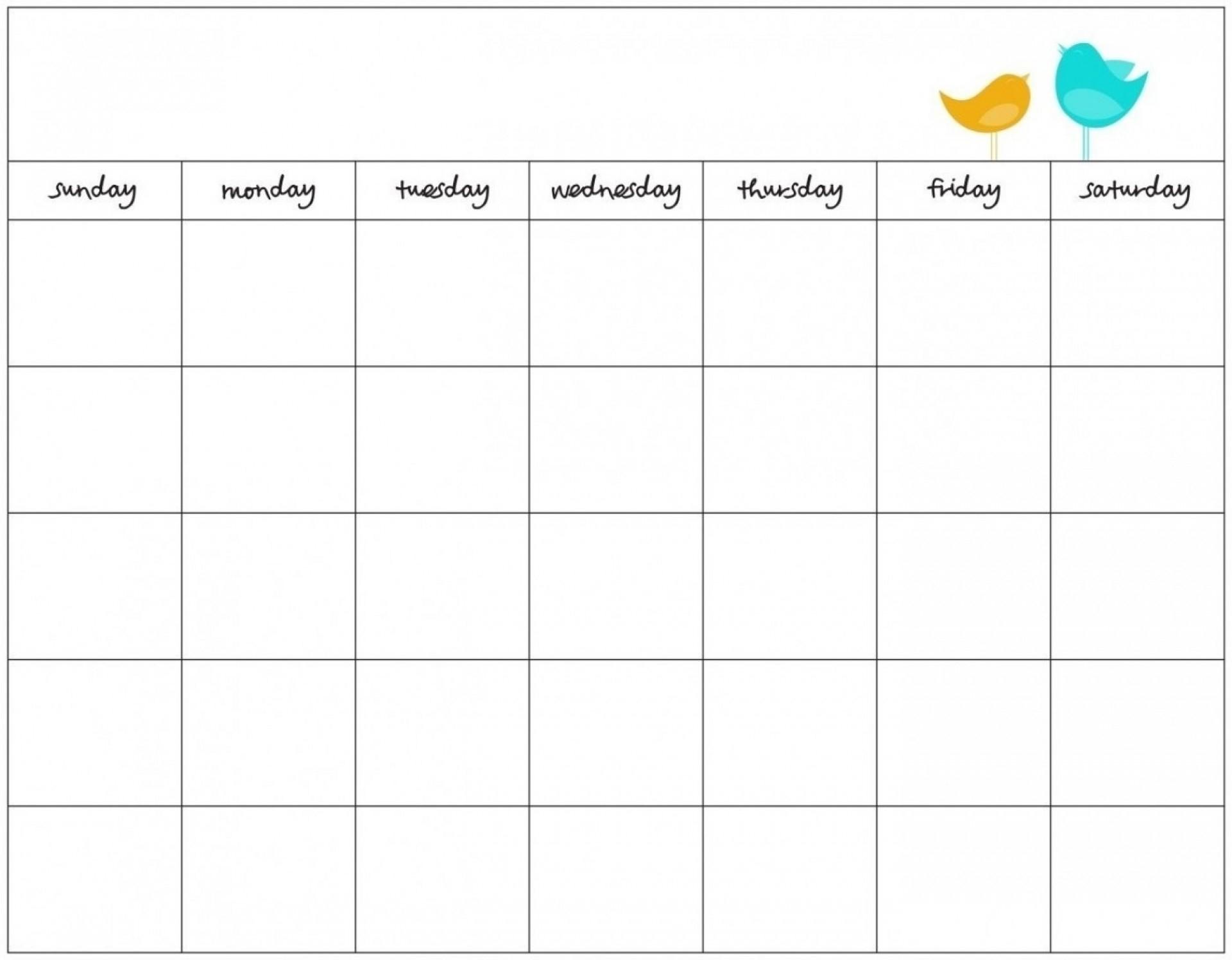 019 Template Ideas Day Stunning 7 Calendar Word Blank inside 7 Day Blank Calendar