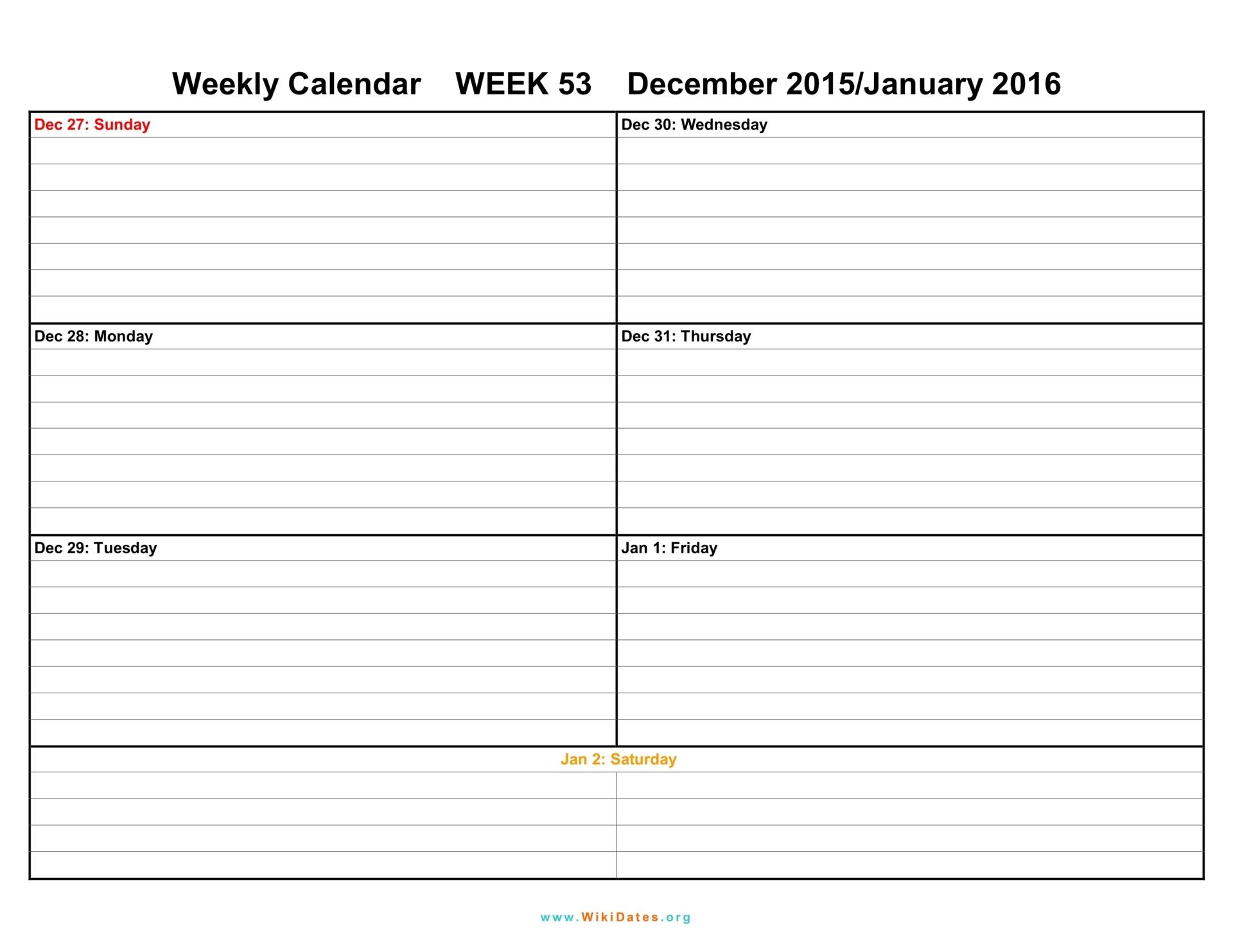 019 Template Ideas Free Printable Daily Calendar With Time throughout Weekly Calendar With Time Slots Pdf