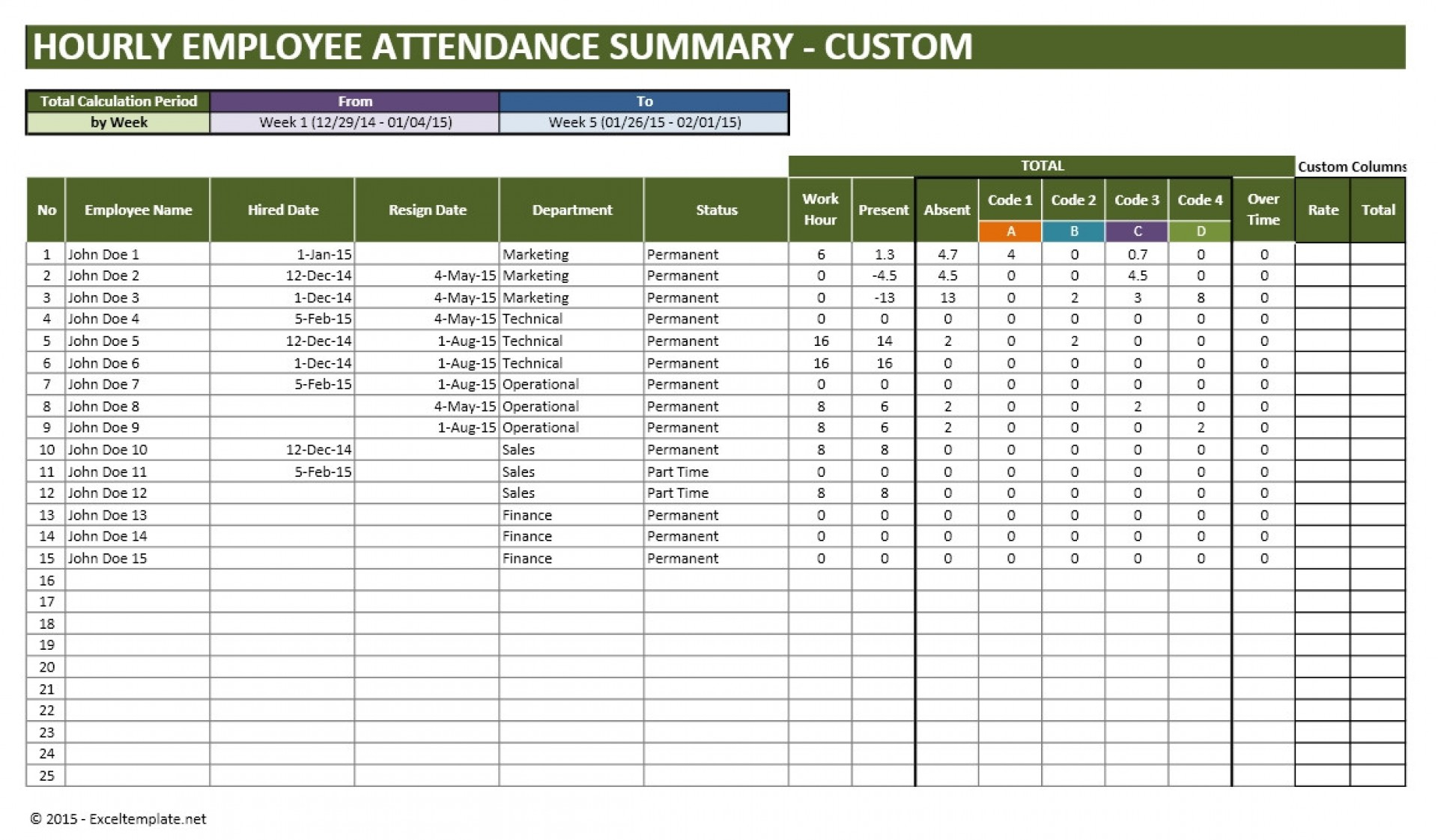 019 Vacation Tracking Calendar Employee Template Excel Pto inside Employee Vacation Tracking Calendar
