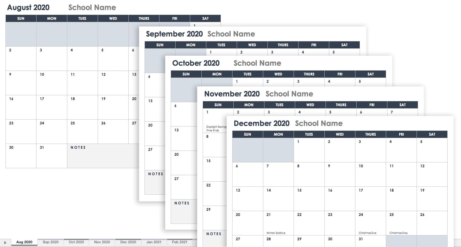 021 Free Google Calendar Templates Smartsheet Editorial intended for Google Calendar To Excel