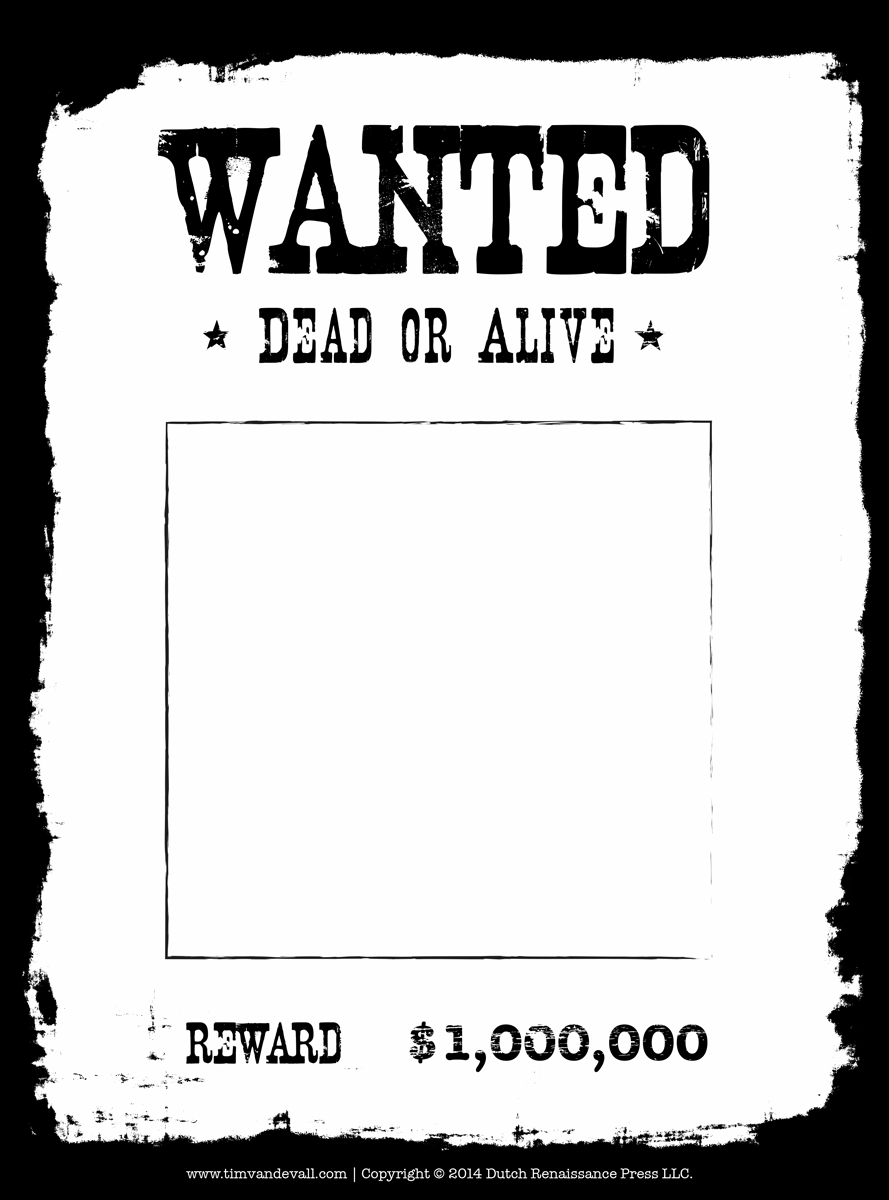 021 Wanted Poster Template Free Printable Ideas Stupendous inside Wanted Poster Template Free Printable