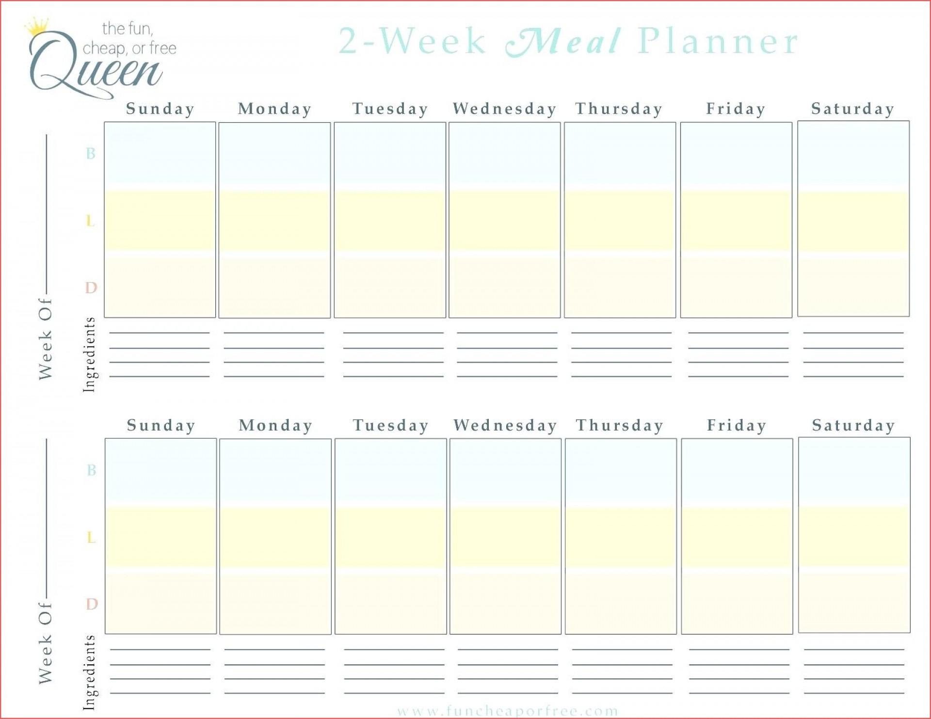 022 Two Week Calendar Template Free Printable Blank in Printable Two Week Calendar Template