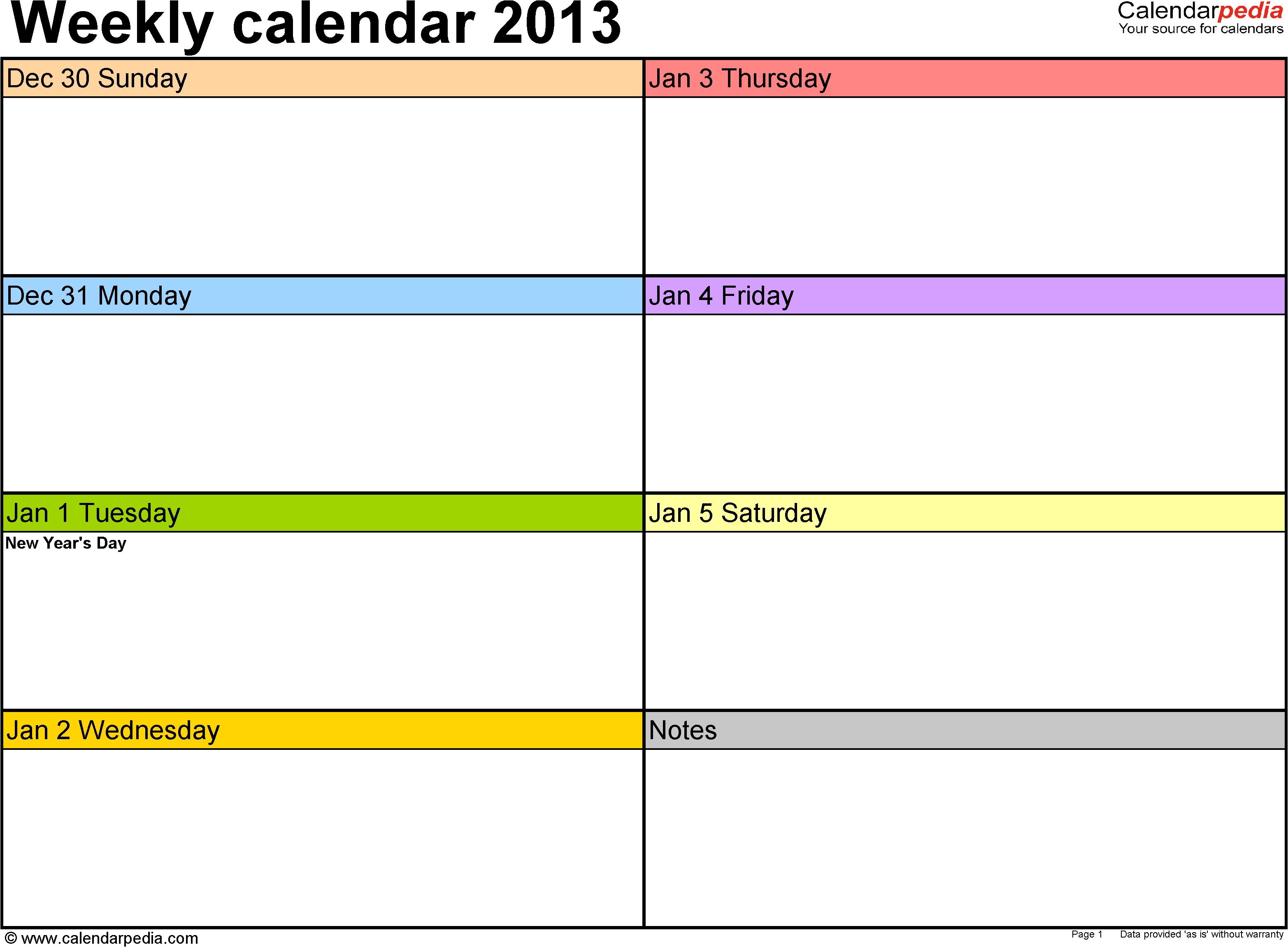 024 Template Ideas Day Calendar Excel Weekly For Free with regard to Printable 5 Day Calendar