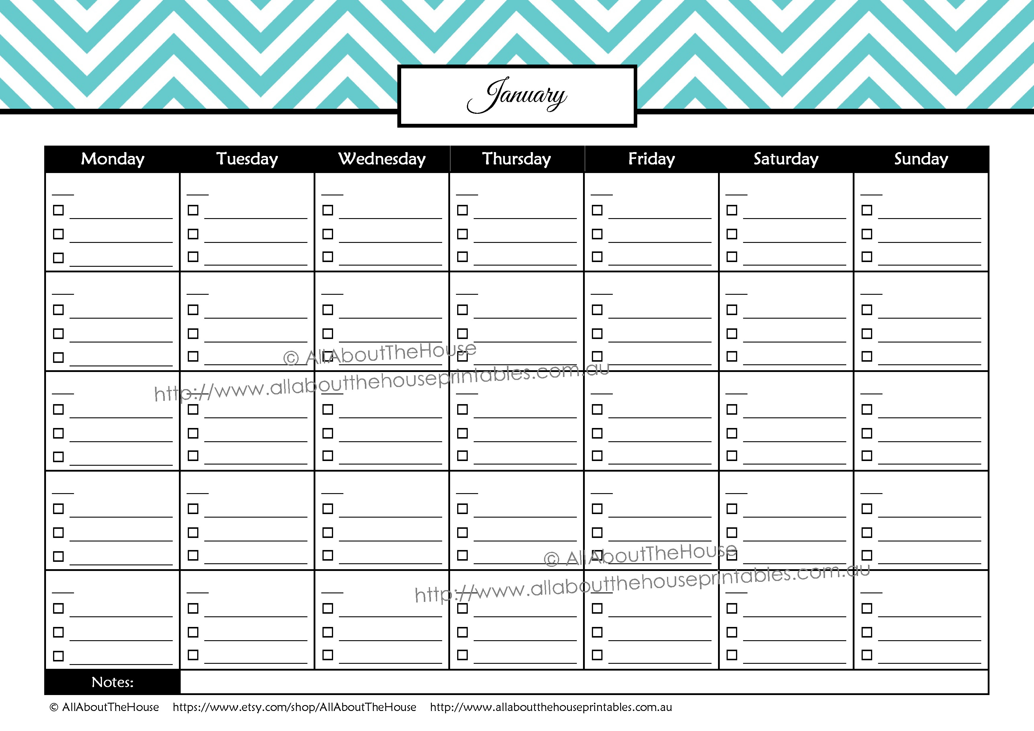 026 Template Ideas Paid Bill Payment Calendar Checklist in Printable Monthly Bill Chart