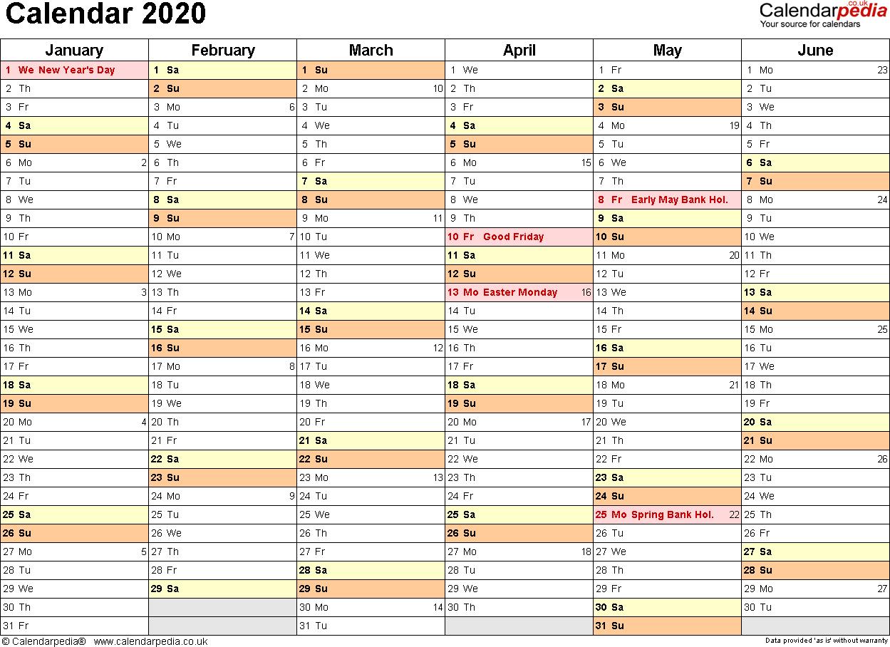030 January Calendar Template Ideas Free Incredible Excel regarding 2020 Excel Calendar