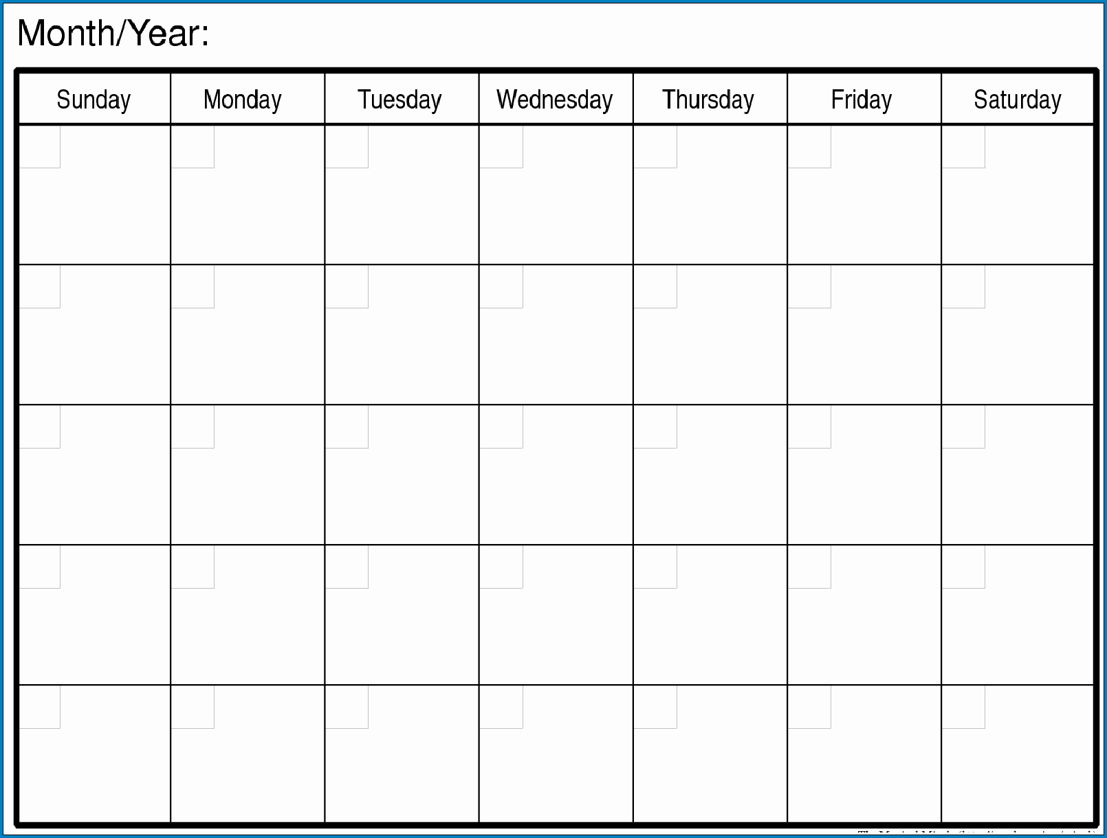 033 Template Ideas Blank Calendar Unforgettable Monthly Free within Blank Monthly Calender