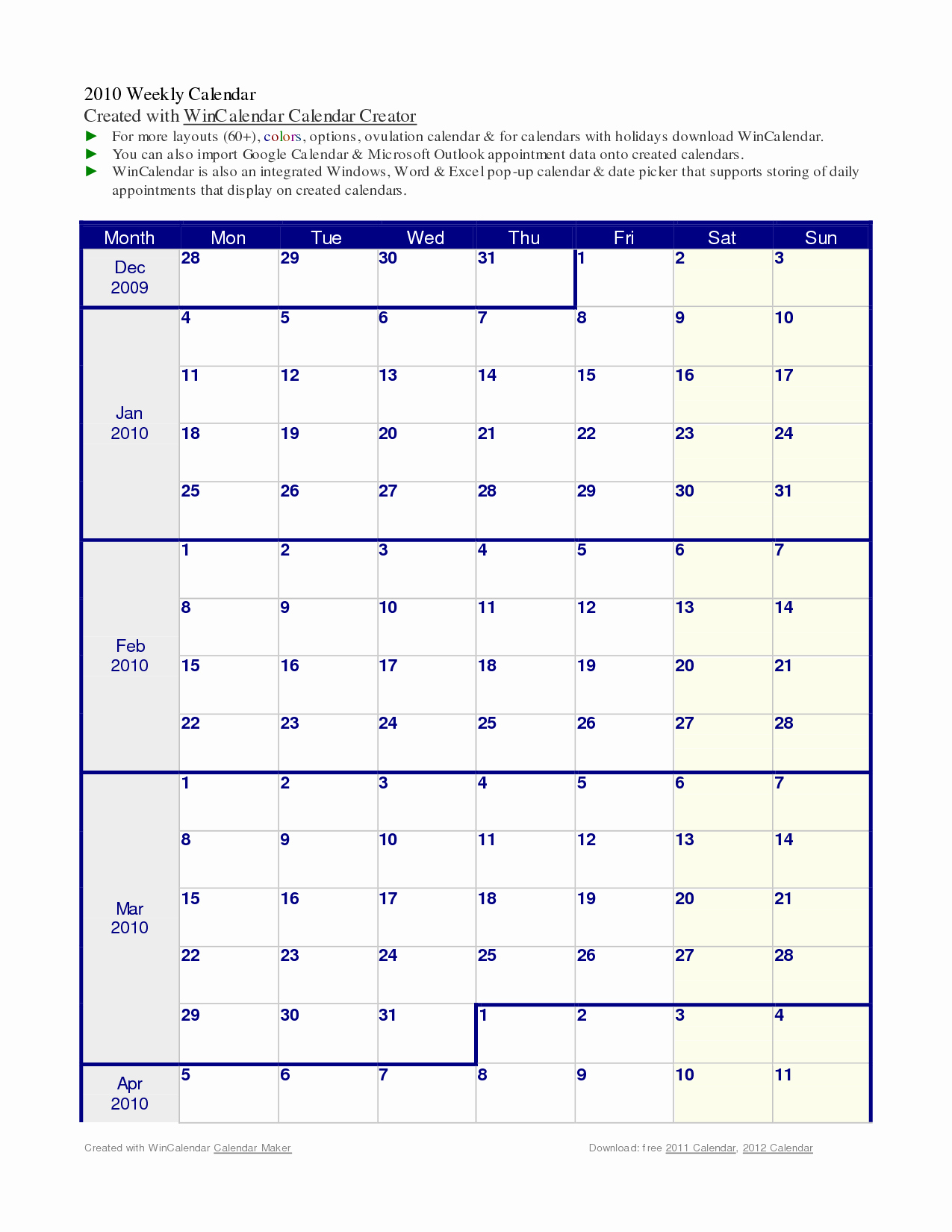 034 Weekly Hourly Calendar Template Word Ideas 20Appointment inside Word Calendar Creator