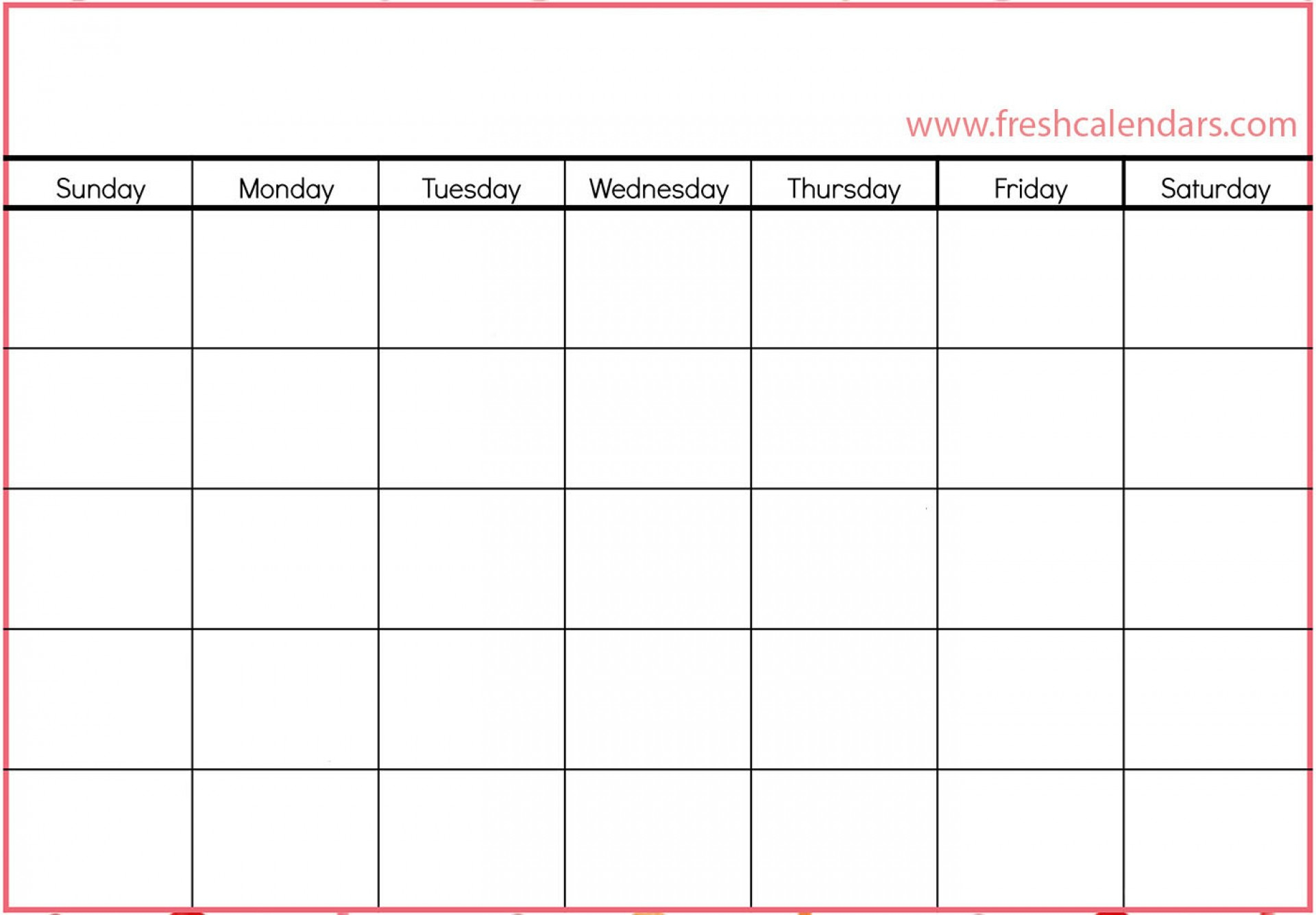 037 Free Fill In Calendar Templates Month Holidays Template throughout Fill In Blank Calendar