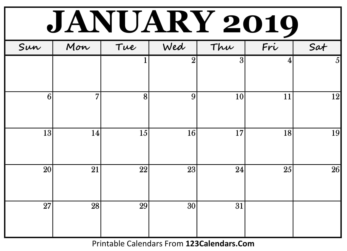 040 Template Ideas January Calendar Free Printable inside 123 Calendars January 2020