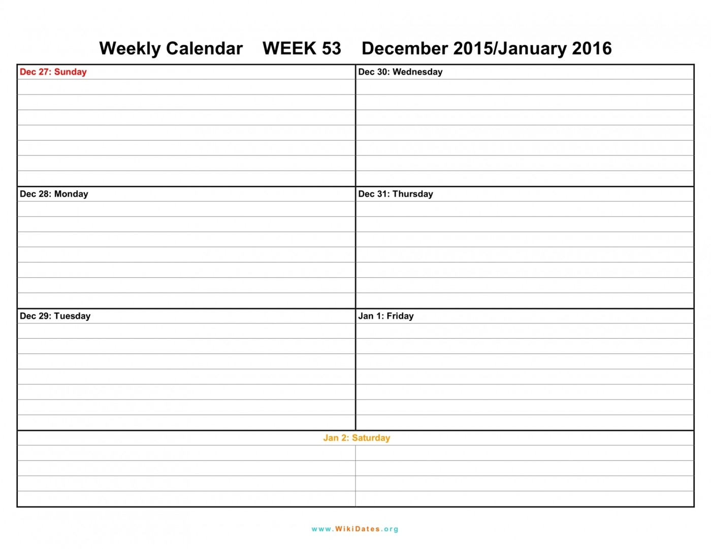 042 Template Ideas Weekly Calendar Print Blank Week Top 2016 within Printable Calendar By Week