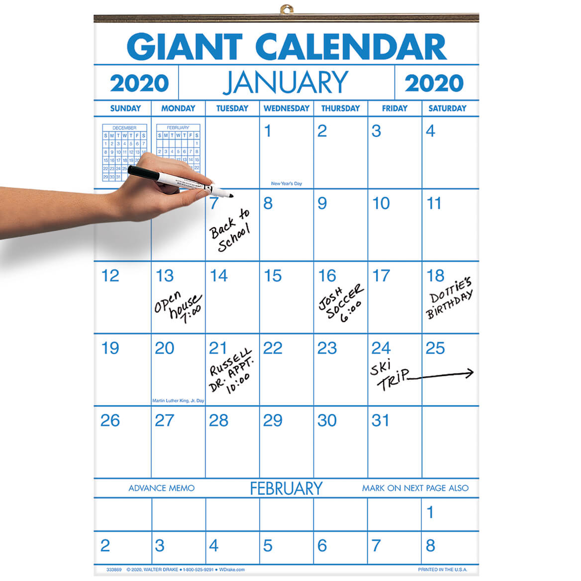 1 Year Large Calendar regarding Free Printable Large Print Calendars For The Visually Impaired