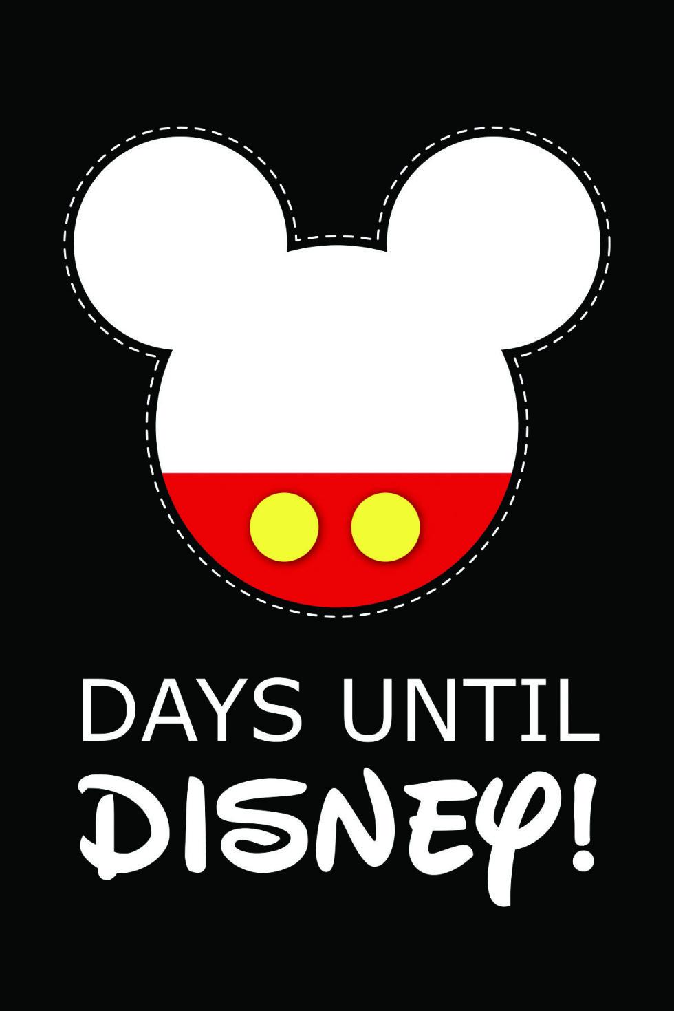 10 Fun Printable Disney Countdown Calendars | Kittybabylove for Disney World Countdown Calendar Printable