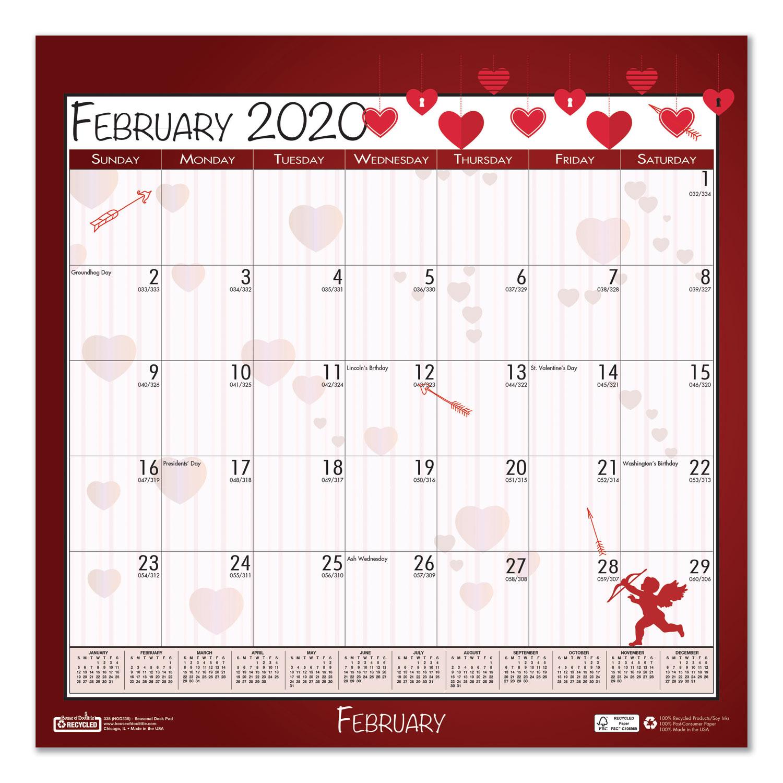 100% Recycled Seasonal Wall Calendar, 12 X 12, 2020  Mason pertaining to 12X12 Calendar Template