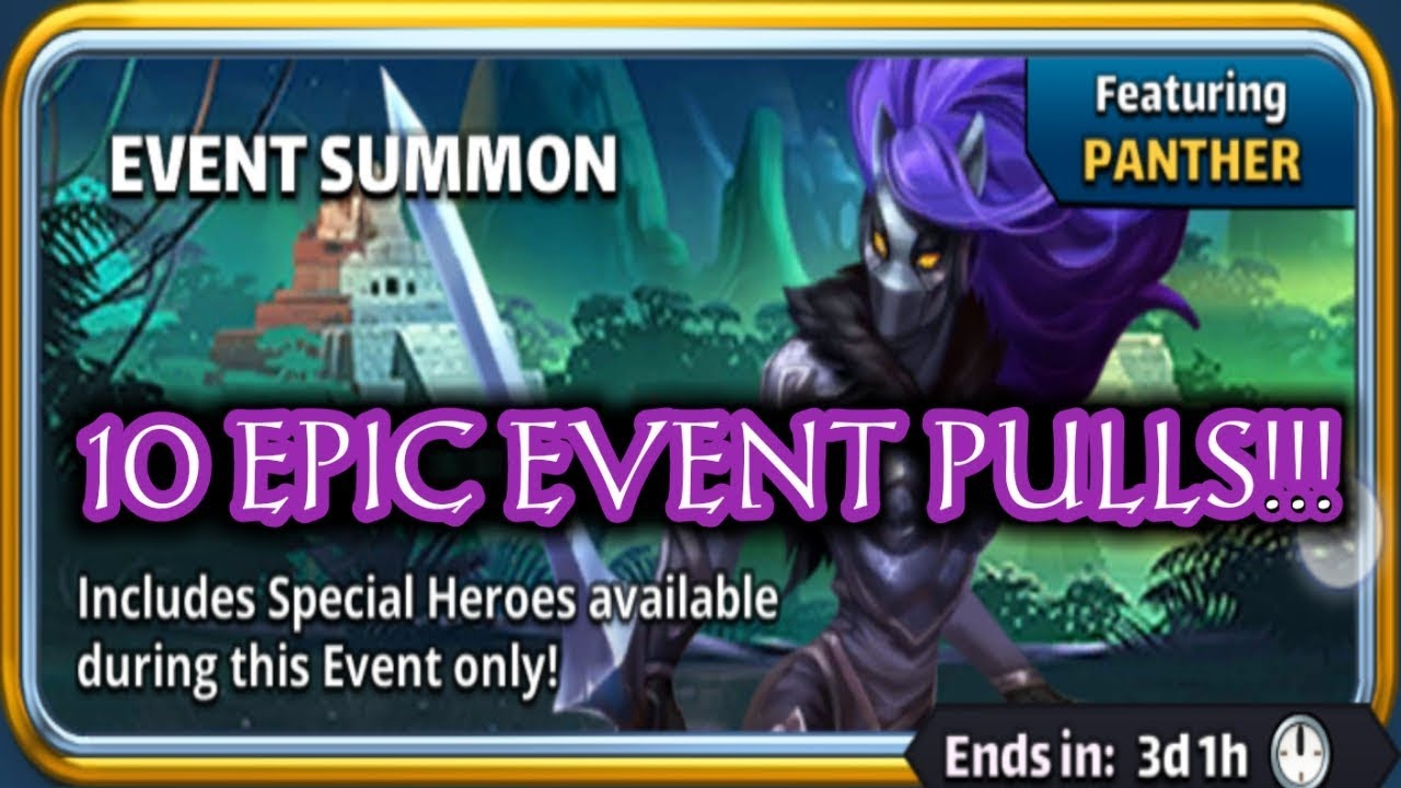 10X Event Summon + A 53,000 Point Team!!! Empires And Puzzles with Empires And Puzzles Calendar