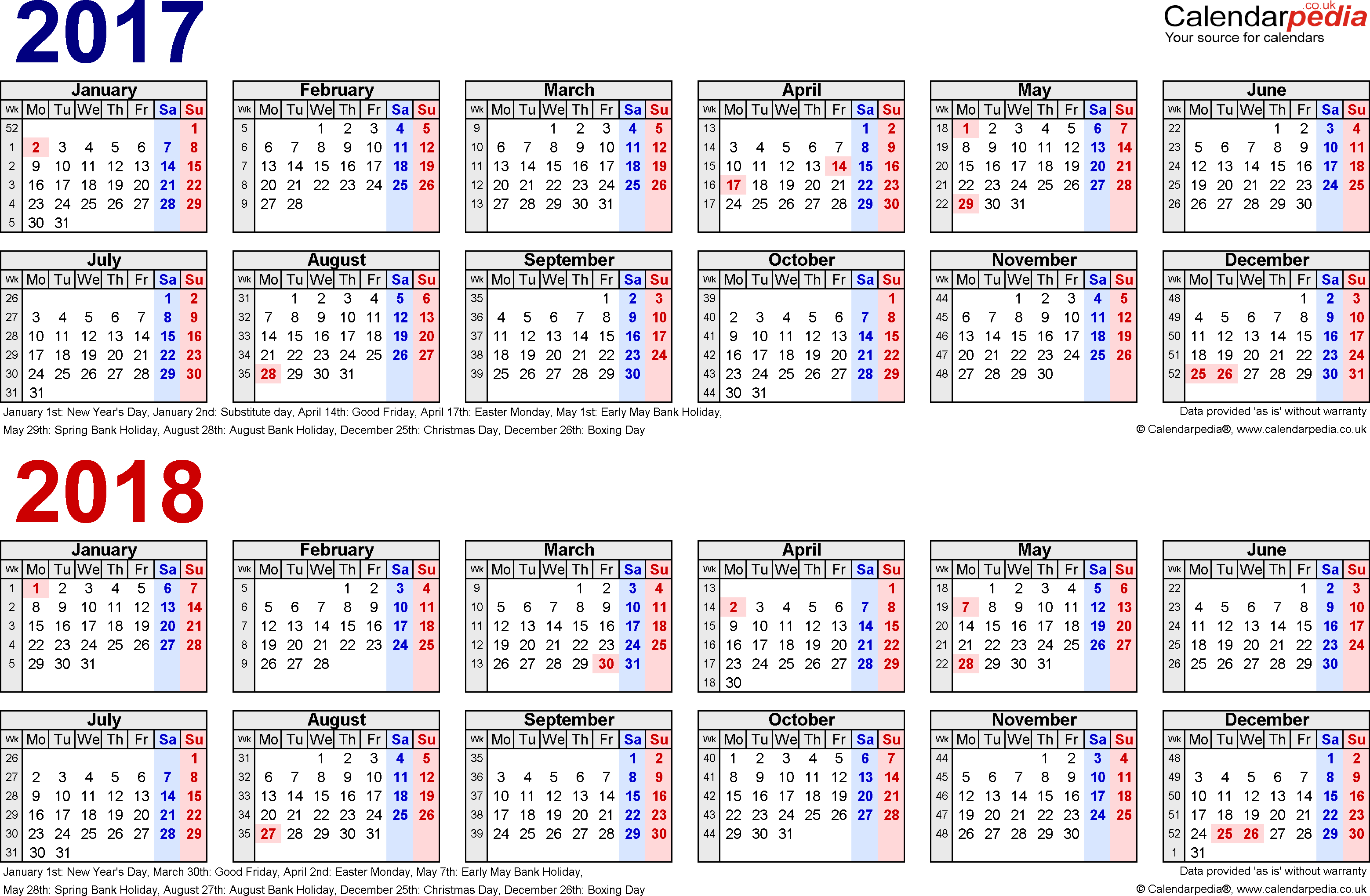 2 Year Calendars  Yatay.horizonconsulting.co regarding Year Long Calendar Template