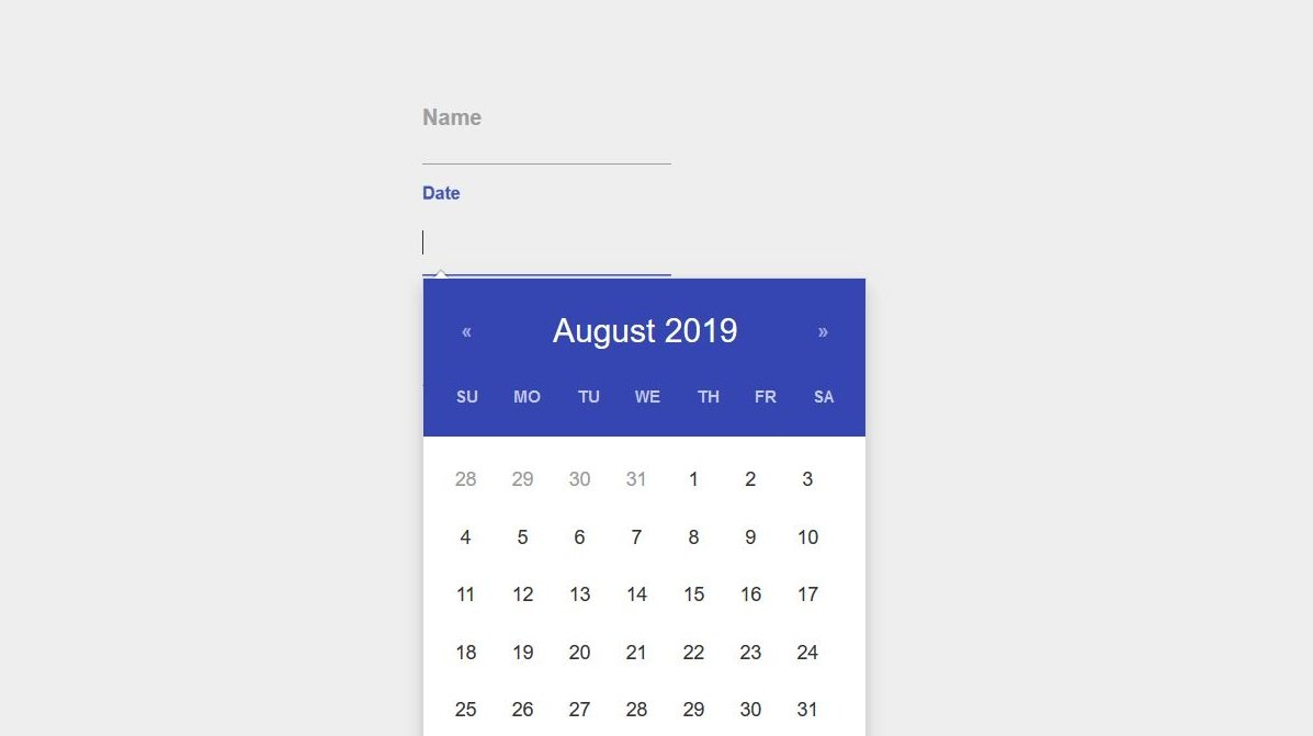 20 Free Stunning Bootstrap Datepicker Examples  Colorlib intended for Bootstrap Calendar Icon