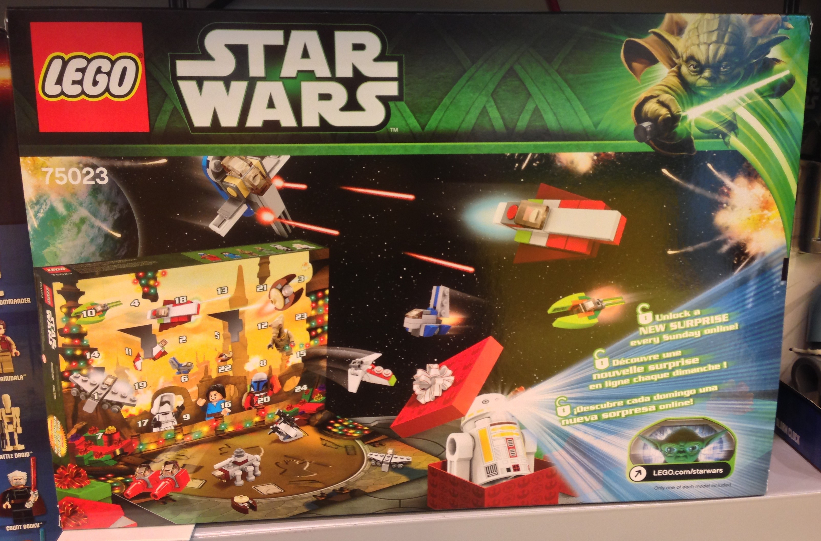 2013 Lego Star Wars Advent Calendar 75023 Released In Stores pertaining to Lego Star Wars Calendar 2013