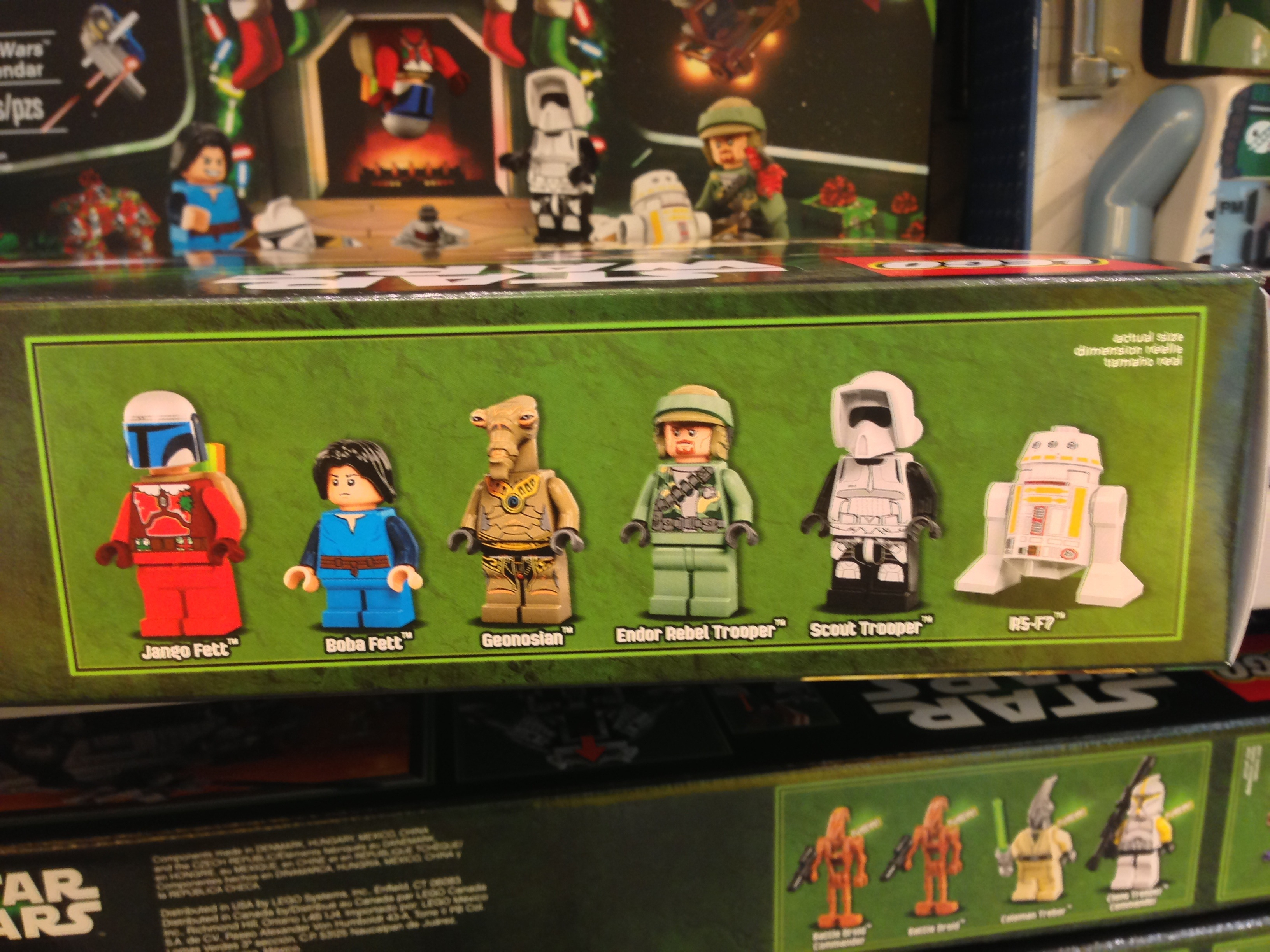 2013 Lego Star Wars Advent Calendar 75023 Released In Stores with regard to Lego Star Wars Calendar 2013