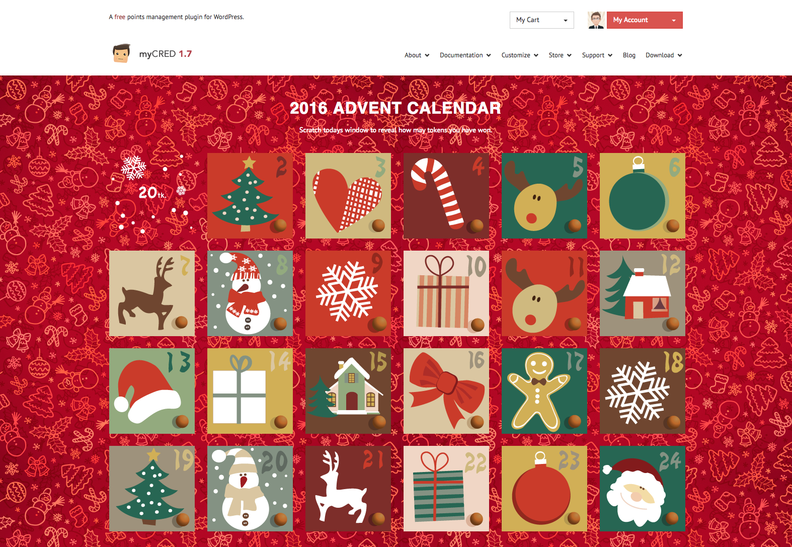 2016 Advent Calendar – Mycred #333306  Png Images  Pngio for Advent Calendar WordPress Plugin