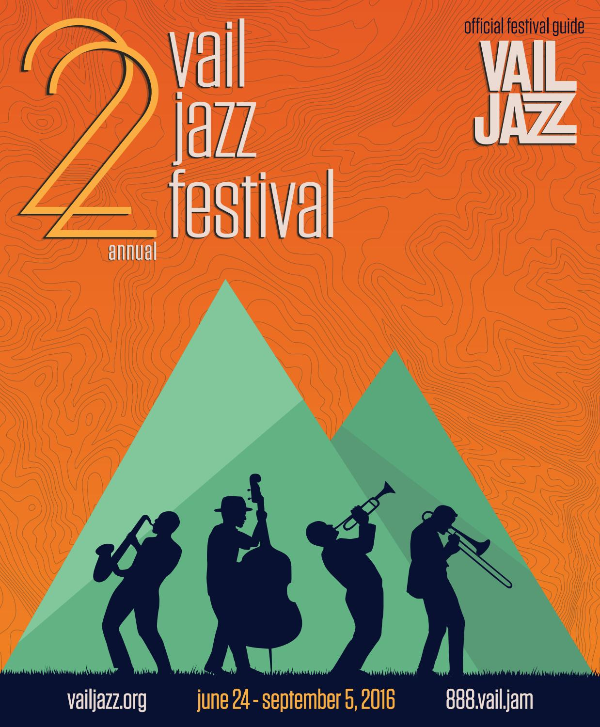 2016 Vail Jazz Festival Guide By Vail Jazz  Issuu pertaining to Vail Academy And High School Calendar