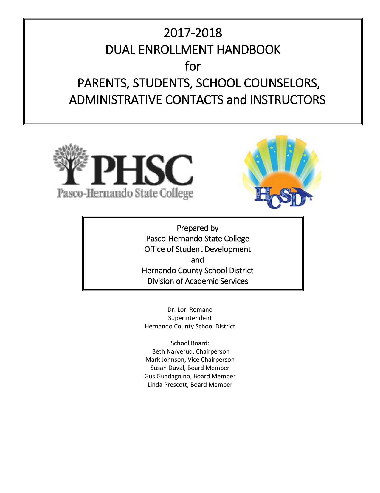 20172018 De Handbook inside Hernando County Fl School Calendar