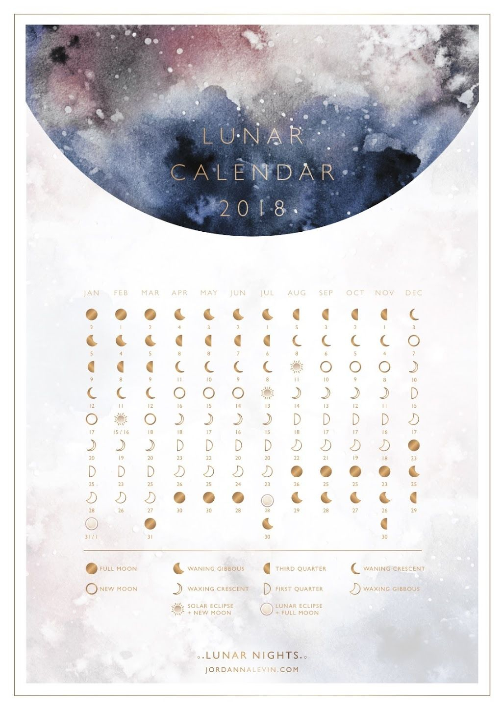 2018 Lunar Calendar  Dagboek Ideeën, Maanstanden En Bullet pertaining to Om Lunar Calendar
