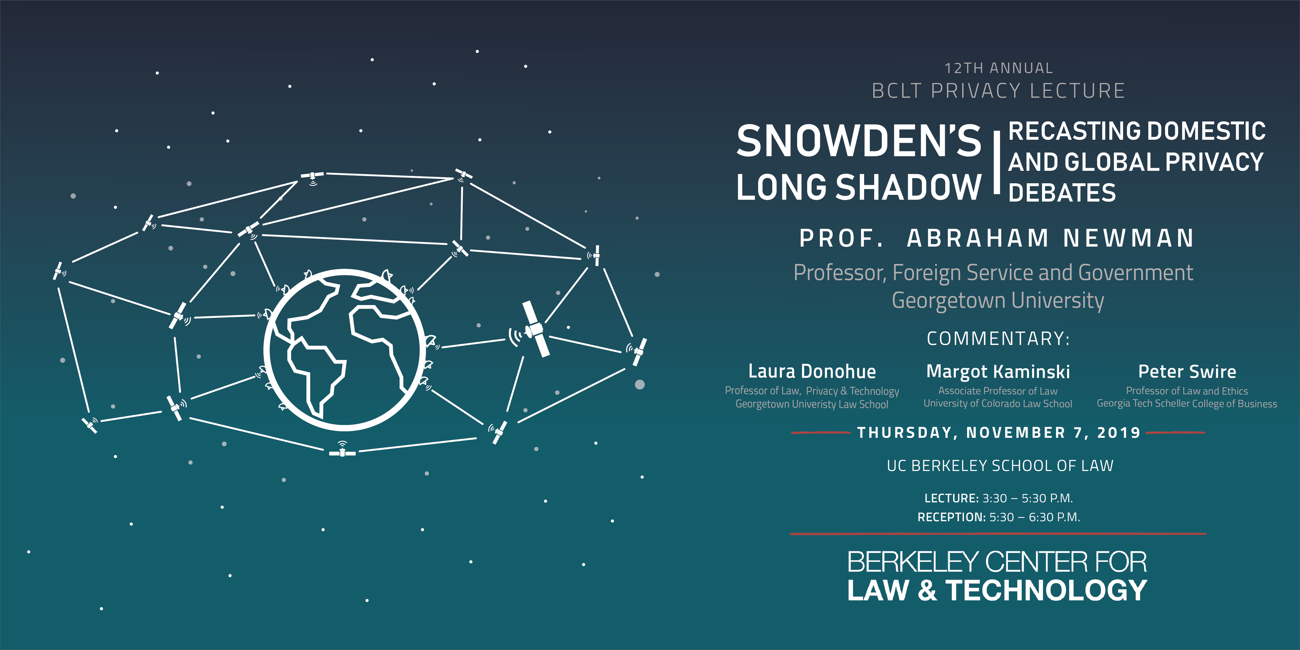 2019 Bclt Privacy Lecture | Berkeley Law for Uc Berkeley Academic Calendar