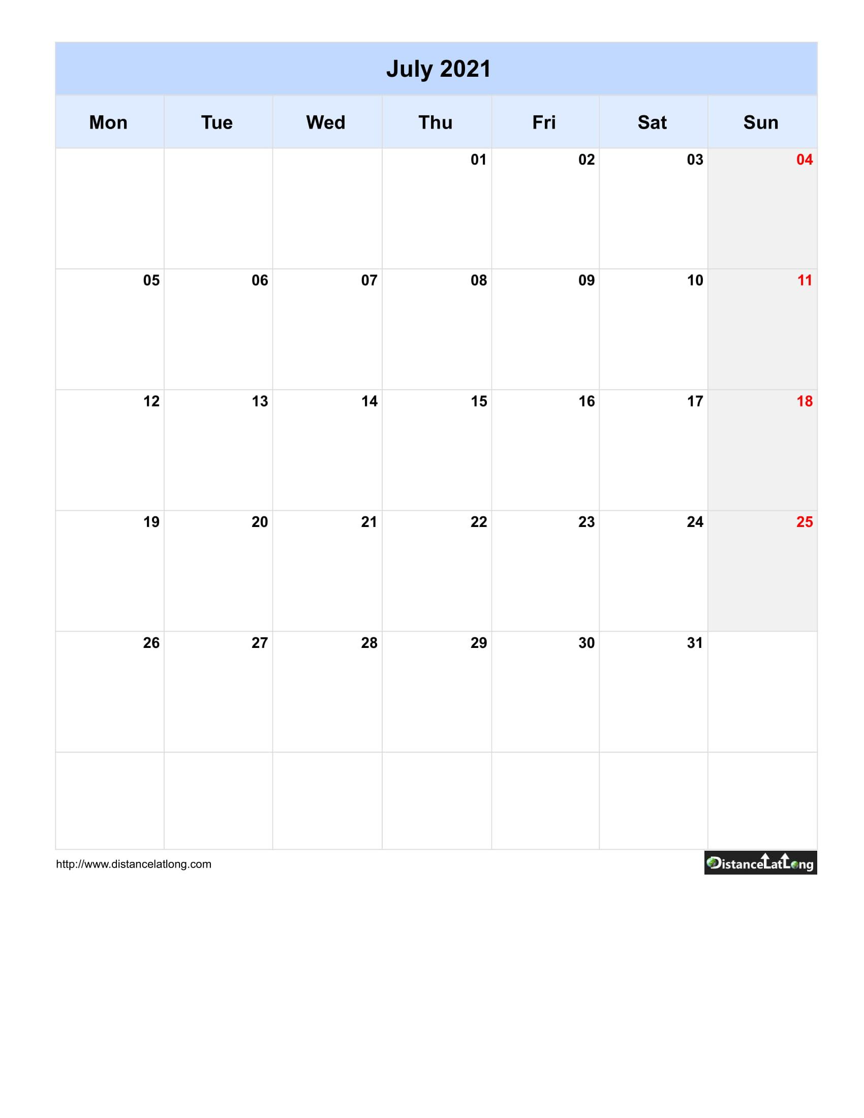 2019 Blank Calendar Blank Portrait Orientation Free inside Blank One Month Calendar