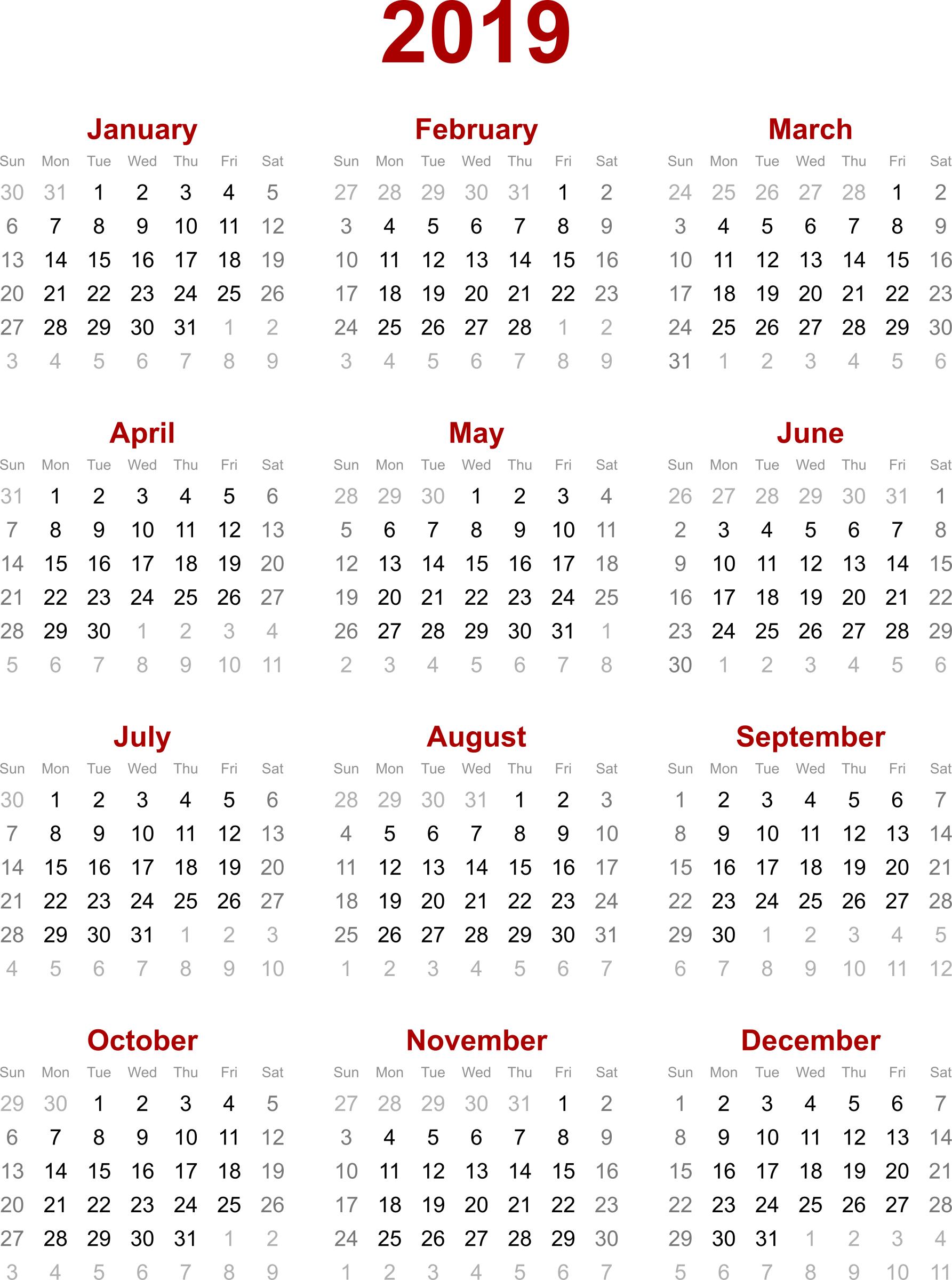 2019 Calendar Hong Kong – Calendar Printable Week for Calendar 2020 Excel Hong Kong