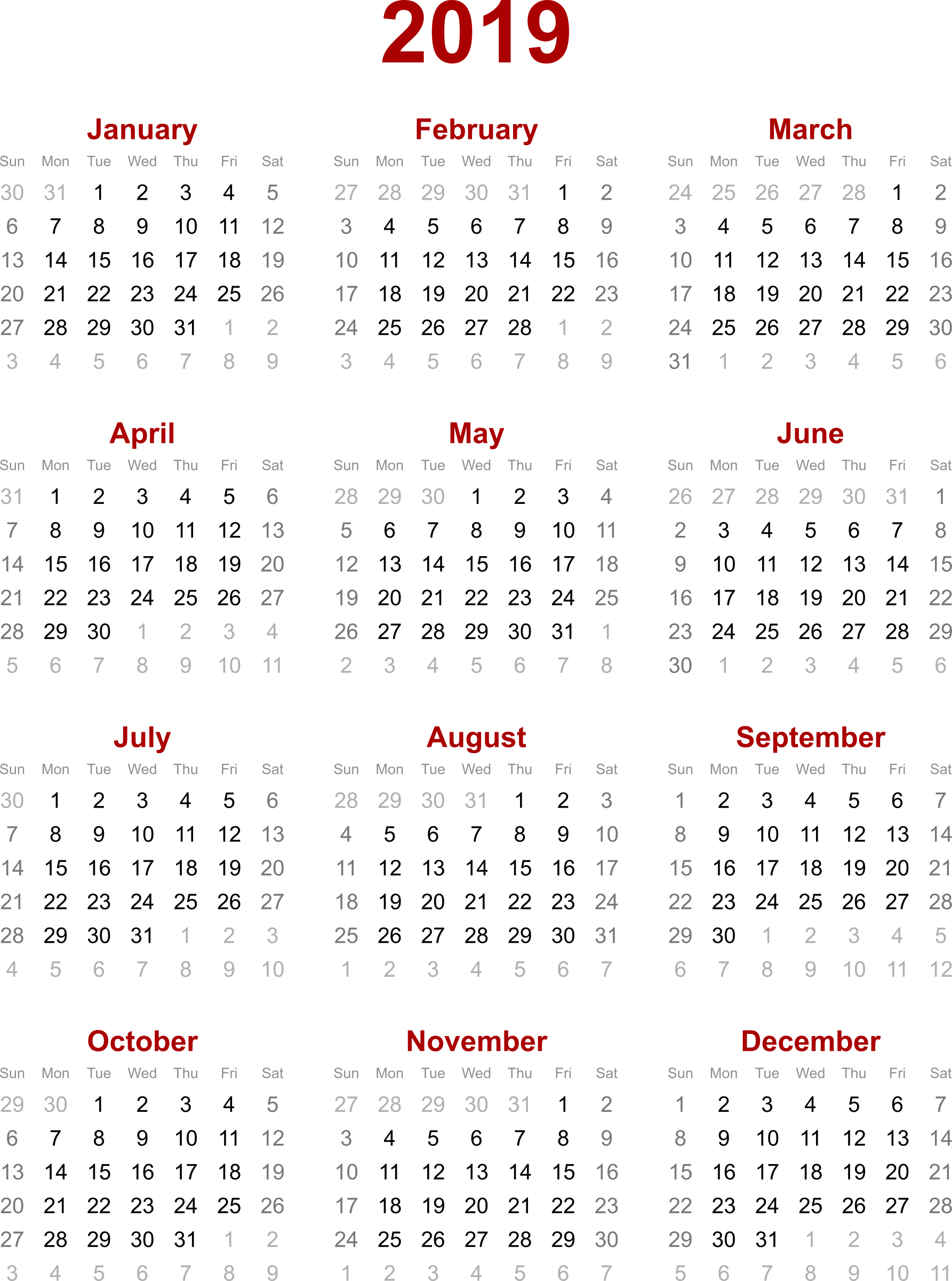 2019 Calendar Hong Kong – Calendar Printable Week regarding 2020 Calendar With Holidays Hong Kong Excel