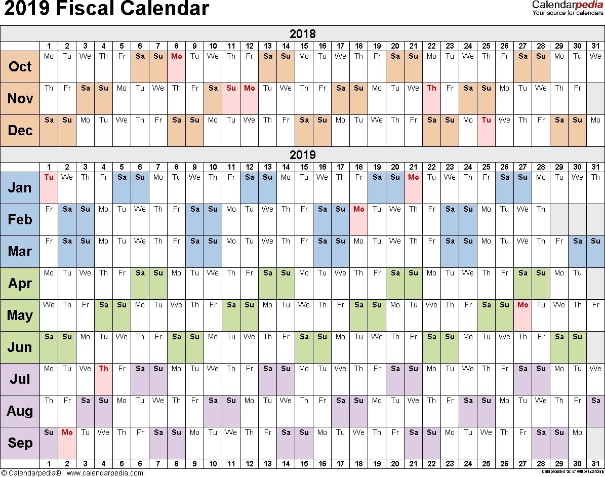 2019 Calendar Quarterly Excel • Quarterly Calendar Template in Excel Quarterly Calendar