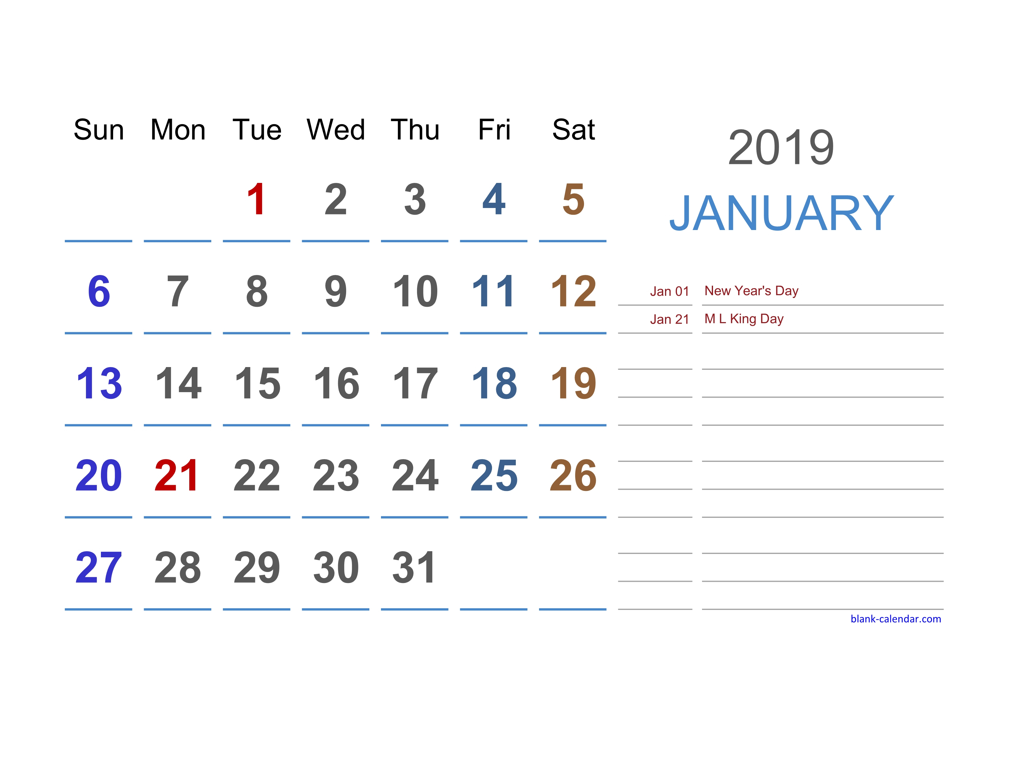 2019 Excel Calendar | Free Download Excel Calendar Templates pertaining to 2020 Calendar With Holidays Hong Kong Excel