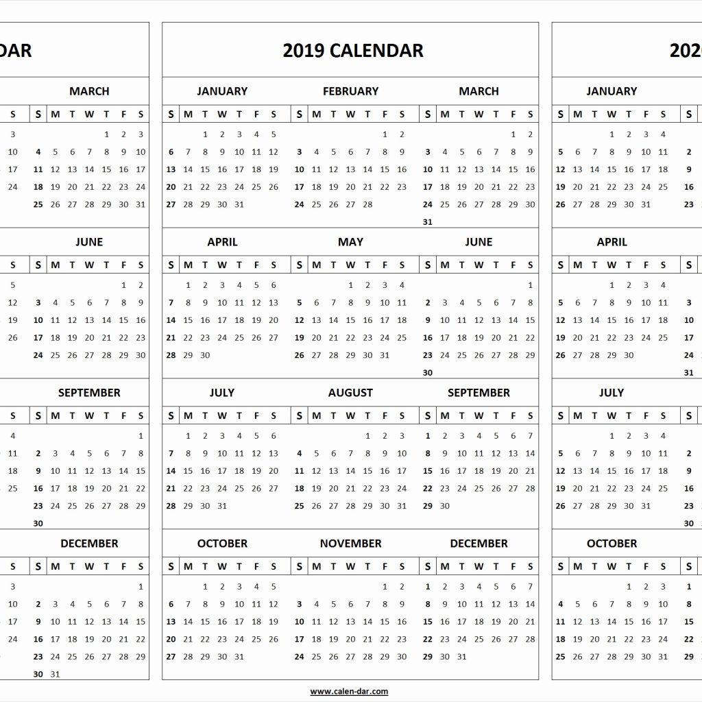2020 Attendance Calendar Template  Yatay.horizonconsulting.co for Free Printable 2020 Attendance Calendar