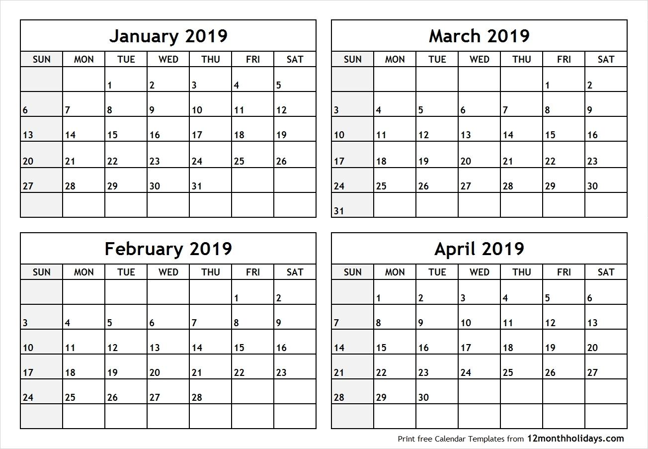 2020 Calendar 2 Months Per Page | Get Your Calendar Example for Printable Calendar 2 Months Per Page