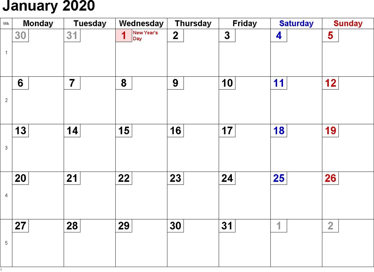2020 Calendar Excel For Your Good Day For Desk | Calendar within Calendarpedia 2020 Excel