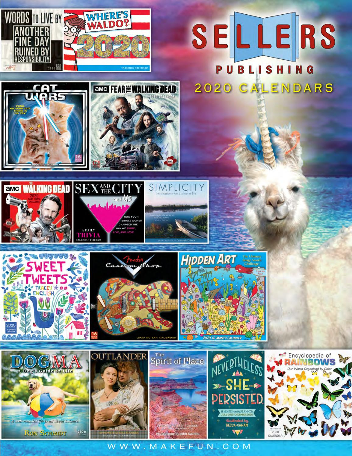 2020 Calendars From Sellers Publishing By Sellers Publishing with Empires And Puzzles Events Calendar
