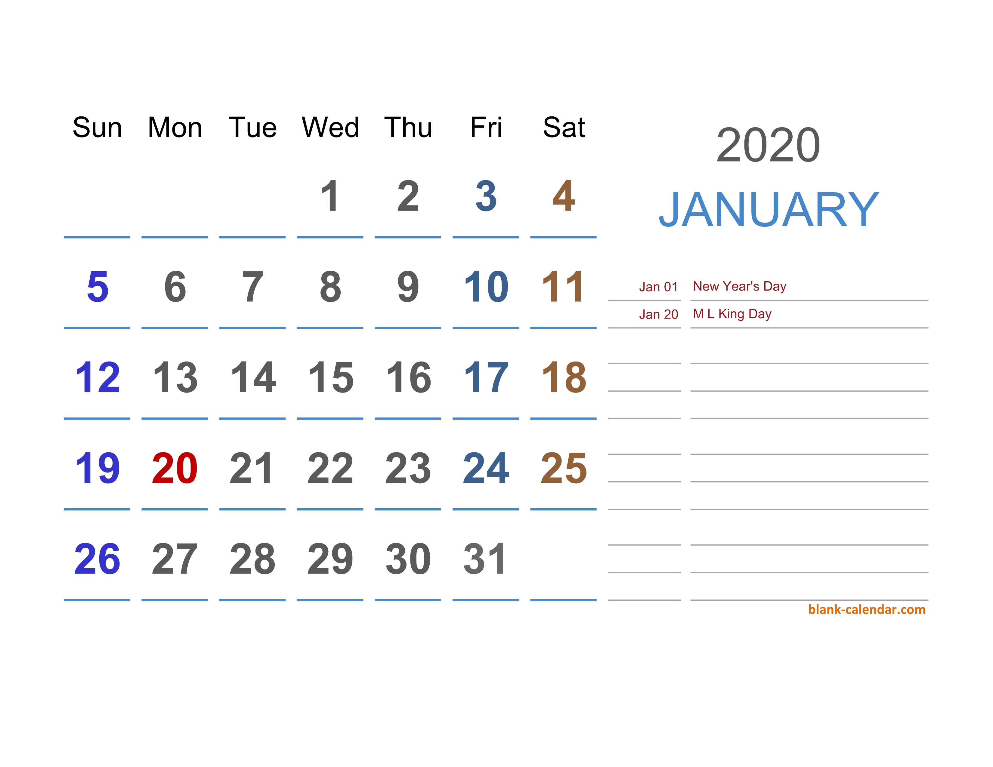 2020 Excel Calendar | Free Download Excel Calendar Templates throughout Quarterly Calendar 2020 Excel
