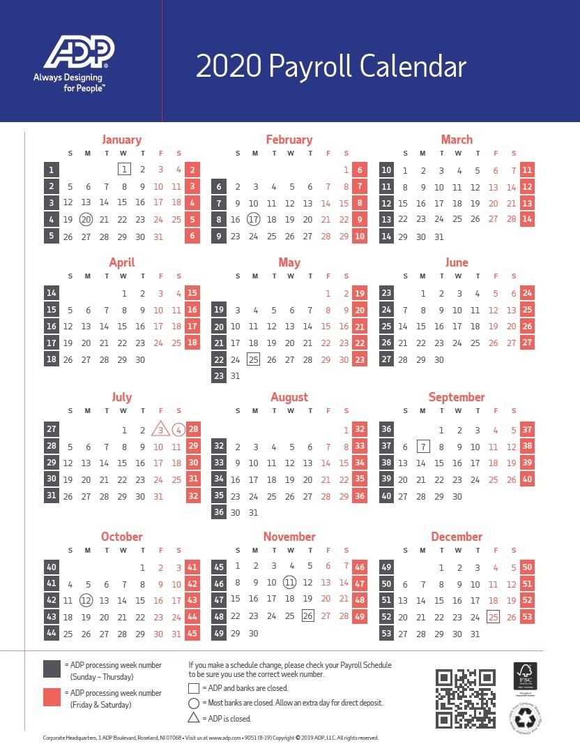 2020 Pay Period Calendar for Uc Berkeley Payroll Calendar 2020