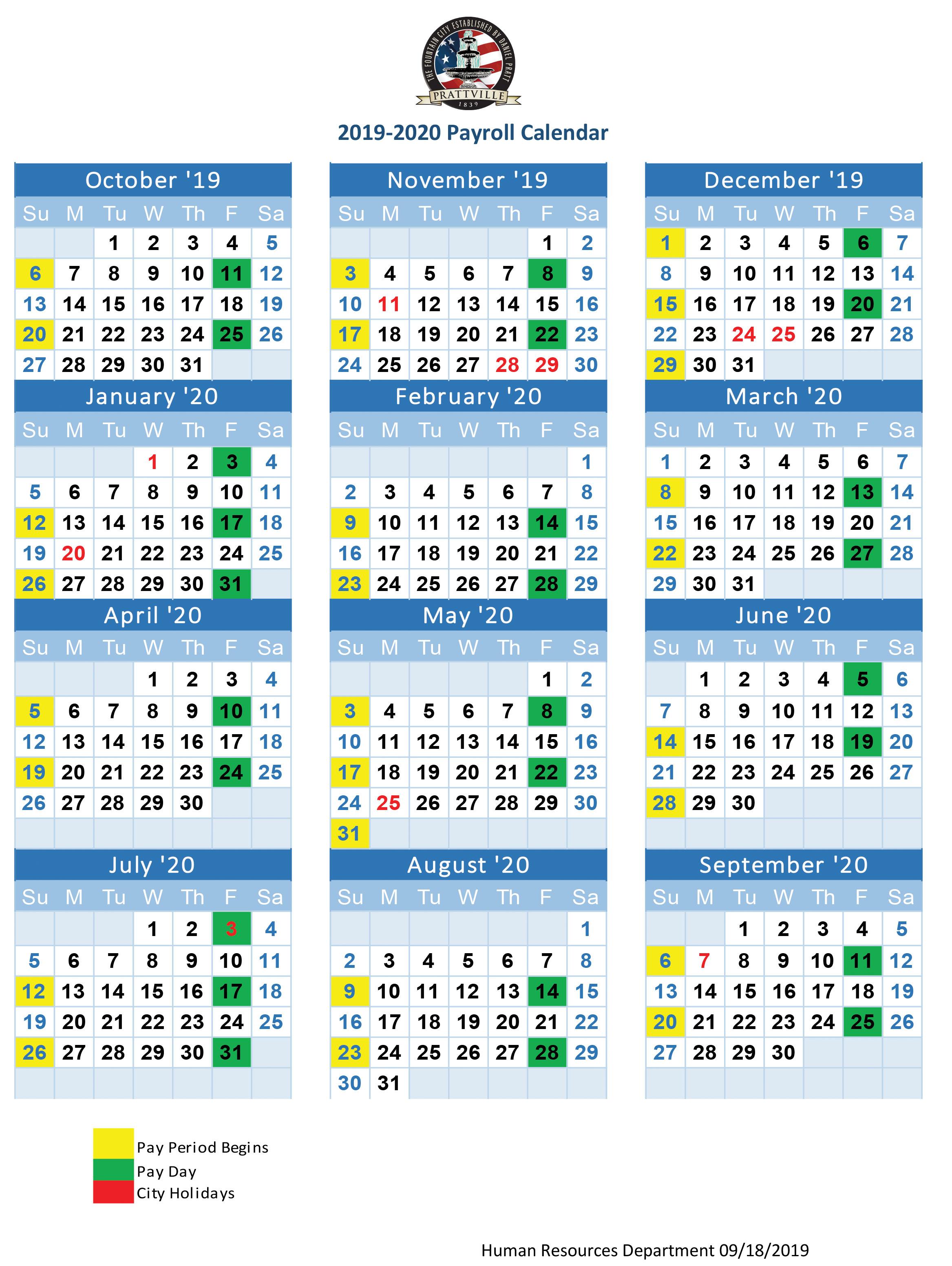 2020 Payroll Calendar  Neyar.kristinejaynephotography intended for Uc Berkeley Biweekly Pay Calendar 2020