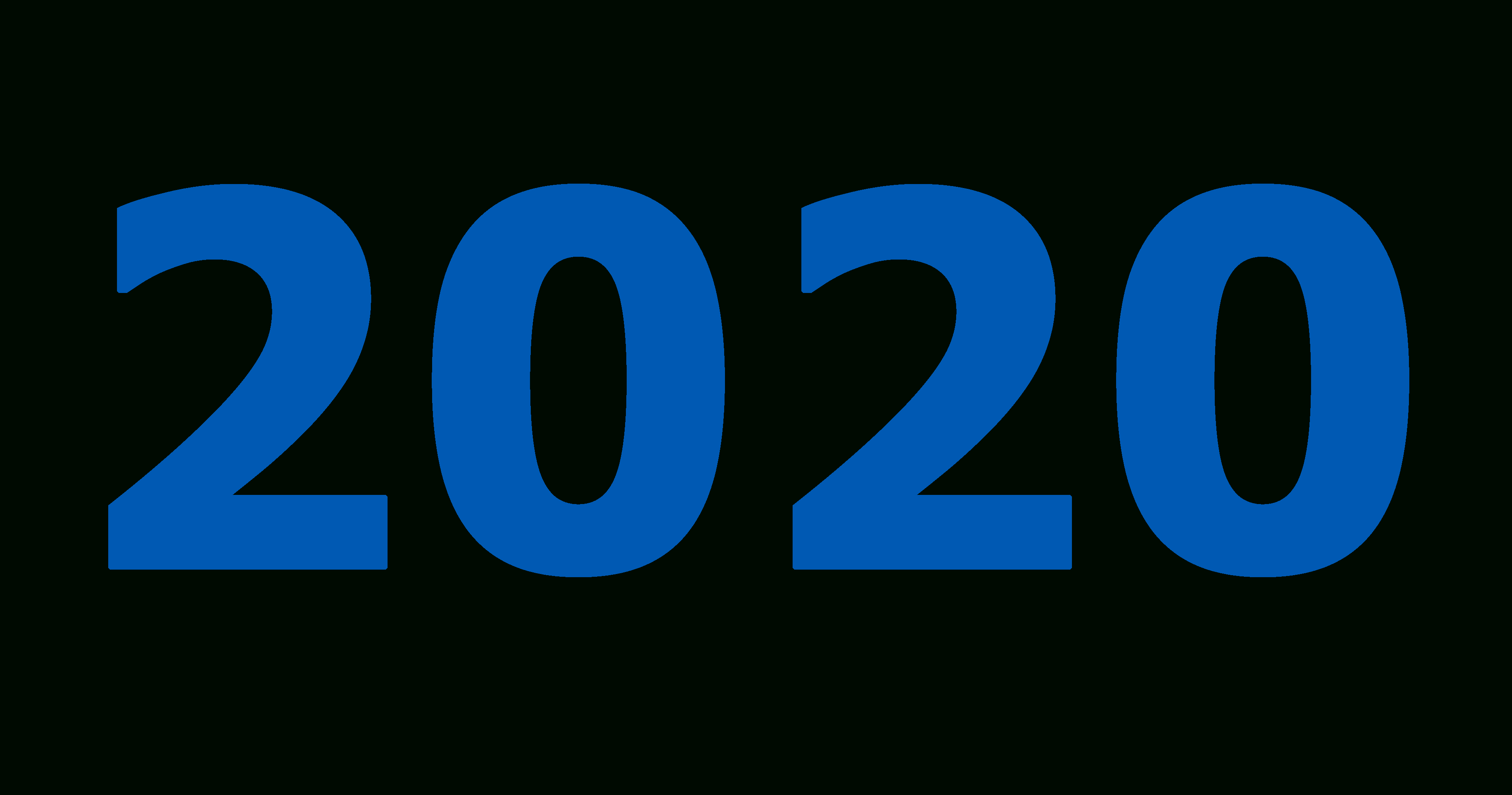 2020 Year Png inside 2020 Transparent Background