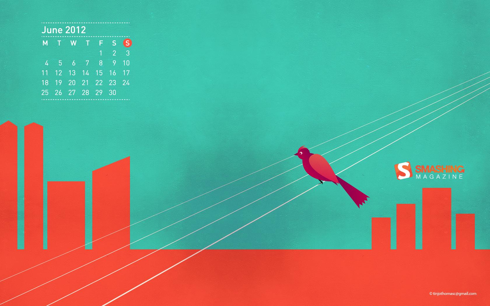 23 Colorful And Fresh Summer Desktop Wallpaper — Smashing inside Smashing Magazine Calendar