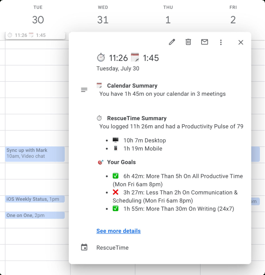 24 Google Calendar Settings To Turn It From Chaotic To Calming intended for One Week Calendar With Time Slots
