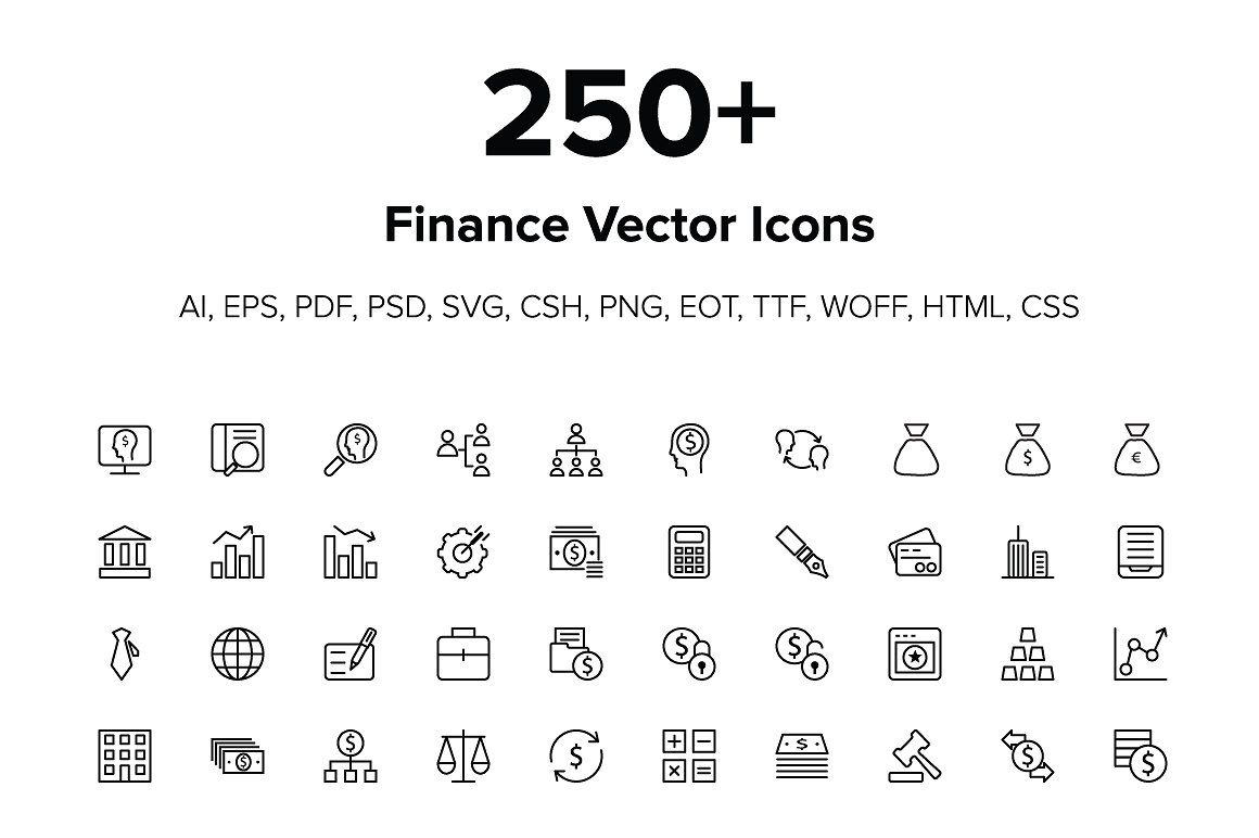 250 Finance Icons #started#today#download#files | Finance in Css Calendar Icon