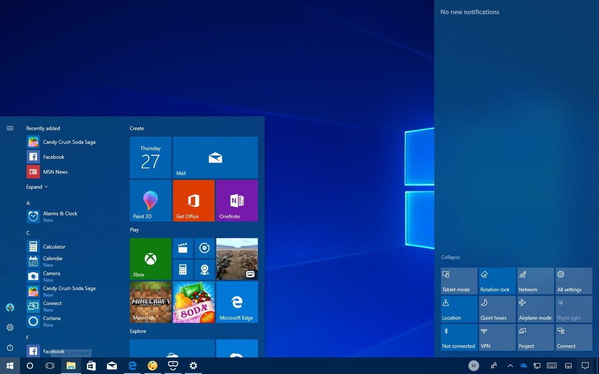 3 Вещи, Которые Не Нравятся В Обновлении Windows 10 Fall with regard to Calendar Creator Windows 10