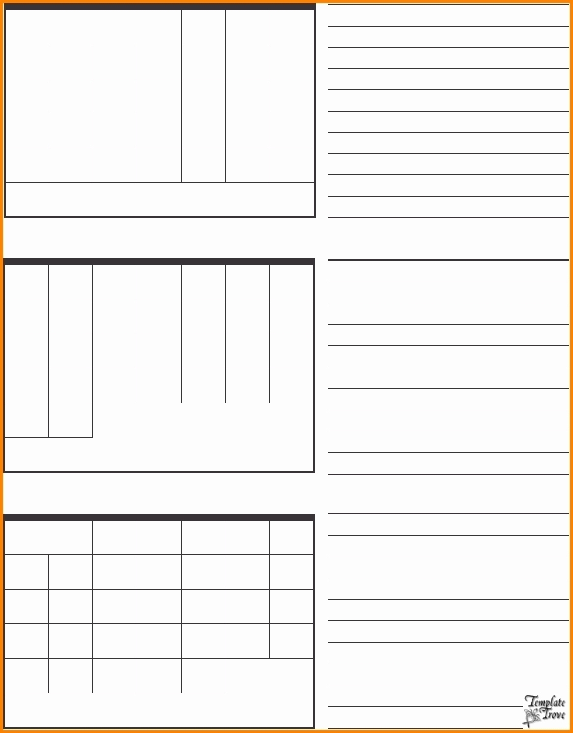 3 Month Blank Printable Calendar | Example Calendar with Printable Calendar 3 Month